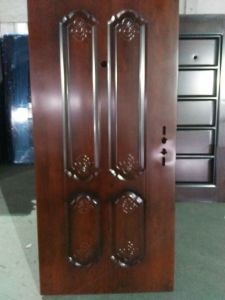 Steel Security Door for Exterior for Hotel or Apartment (SD-006) pictures & photos