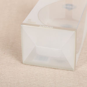 small custom logo transparent plastic cosmetic box pictures & photos