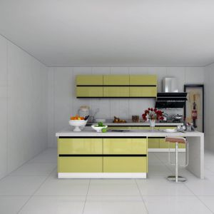 China Project Made Lacquer Flat Pack Plywood Kitchen Cabinets ...
