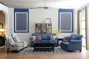 American Style Sofa Fabric Sofa Set Home Furniture pictures & photos