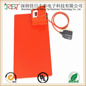 Custom Silicone Rubber Heating Mat with Thermostat Controller pictures & photos