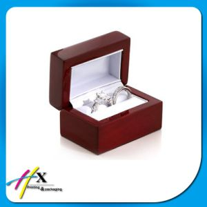 Personalized High Gloss Wooden Gift Box for Ring pictures & photos