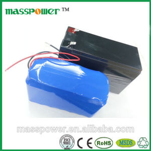 Rechargeable Lithium Battery Pack 12V 60ah Power Supply