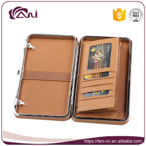 Handmade Travel Passport Leather Women Wallet 2017 pictures & photos