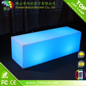 120cm Length Polyethylene LED Leisure Bench