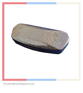 PU Coated with Metal Sunglasses Case for Sunglasses and Glasses