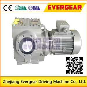 S Series Helical Worm Gear Motor Gear Reducer pictures & photos