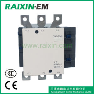 Raixin New Type Cjx2-D245 AC Contactor 3p AC-3 380V 132kw