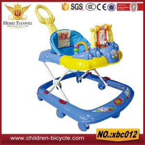 Popular Blue Boys Baby Walker Factory From Pingxiang, Hebei pictures & photos