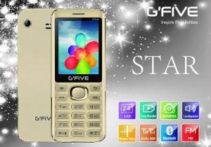 Gfive Star Feature Phone with FCC, Ce, 3c