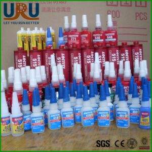 Henkel Loctite Glue Adhesive 242 243 270 272 401 495 5188 648 577 3421 7063 pictures & photos