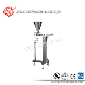 Stand Type with Single Nozzle Paste Semi-Auto Filling Machine pictures & photos