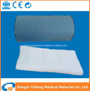100% Cotton Hydrophilic Absorbent Medical Gauze Roll 90cmx40m-4ply pictures & photos