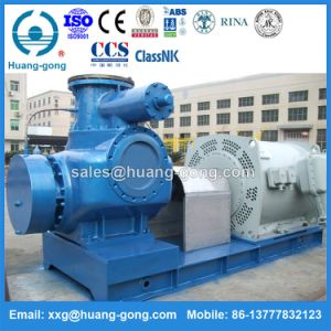 Huanggong 2hm18000 W. V Multi Phase Heavy Oil Double Screw Pump pictures & photos
