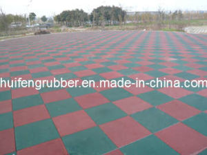 Rubber Floor Tile for Playground