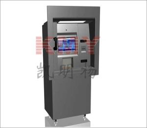 Through Wall Touch Screen Payment Kiosk, ATM Terminal (KMY8300 Series) pictures & photos