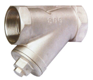 800wog Stainless Steel Filter, Y Strainer, Y-Filter