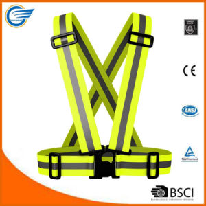 Amazon Hot Selling High Visibility Safety Reflective Vest Running Vest pictures & photos
