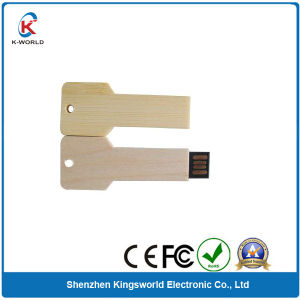 4GB Wood Key USB Flash Drive