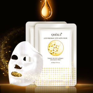 OEM QBEKA Anti Wrinkle Anti Aging Mask Private Label Face Mask Wrinkle Lifting Face Mask pictures & photos