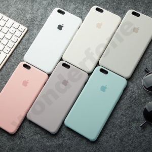 Best Quality iPhone Original Silicone Cell Phone Cover Case pictures & photos