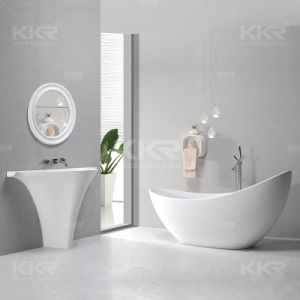 Kkr 52 Inch Resin Stone Message Bathtub for Hotel Project (180227) pictures & photos