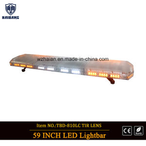 1500mm 59′′ Dual-Color LEDs Lightbar for School Bus (TBD-GA-810L-C4-1500MM) pictures & photos