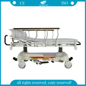 CE&ISO Approved AG-Hs001 Hospital Hydraulic Stretcher pictures & photos