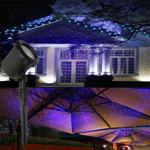 Outdoor Red Blue Moving Star Garden Laser Light pictures & photos