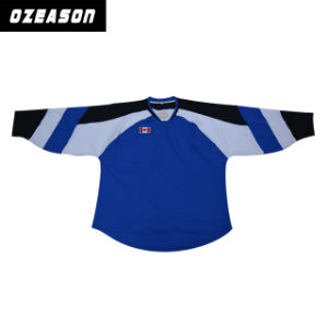 Professional Custom Cheap Hockey Practice Jerseys for Team (H013) pictures & photos