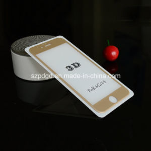 for iPhone 6 / 6s 3D 9h Curved Edge Tempered Carving Glass