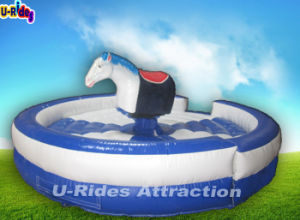 Inflatable Mechanical Horse Rodeo ride Simulator pictures & photos