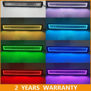 China 42inch color led light bar offroad 4x4 cree rgb light bar halo 42inch color led light bar offroad 4x4 cree rgb light bar halo ring aloadofball Images
