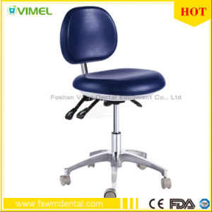 Dental Medical Office Chair Doctor′s Stool Adjustable pictures & photos