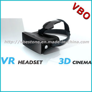2016 Newest Flexible Virtual Reality Vr Headset Imax 3D Video Cinema Glasses for 3D Movies Games