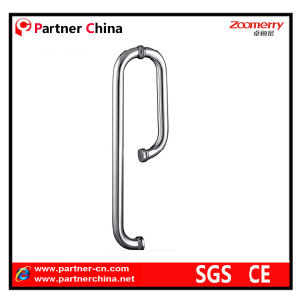 Stainless Steel 304 Modern Pull Handle for Glass Door (01-109) pictures & photos