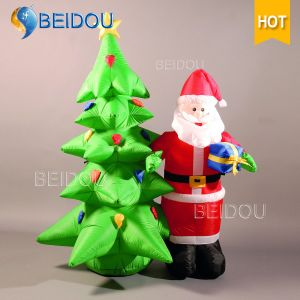 china factory custom christmas trees decorations giant inflatable
