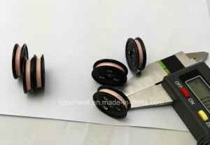 Flanged Wire Guide Pulley Wire Roller/Plastic Combined Ceramic Pulley pictures & photos