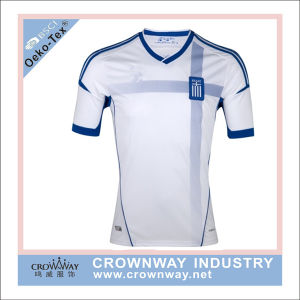 Wholesale Sports Football T-Shirt Soccer Jersey with Custom Logo pictures & photos