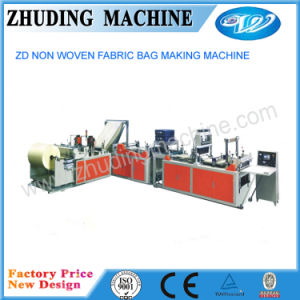 New Model Non Woven Flat Bag Making Machine Zd600 pictures & photos