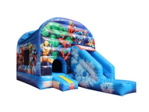 Marvel Heroes Inflatable Bouncy Slide Combo Chb597