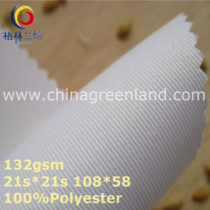 Twill 100%Polyester Woven Fabric for Garment Textile (GLLML367) pictures & photos