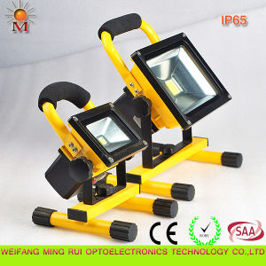 10W Portable LED Flood Light with CE & RoHS Certificates