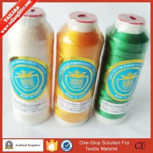 2016 Tailian Wholesale 100% Rayon 3000m Embroidery Thread pictures & photos