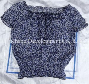 Lady Fashion Silk & Cotton Used Dress, T-Shirt, and Man Big Size Sport Clothes, Jean Pants (FCD-002)