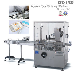 Fully Automatic Folding Cartons Cartoning Machine for Pharmaceutical Injection Type (DZ-120) pictures & photos