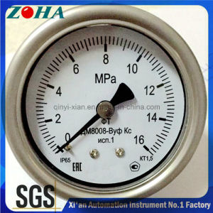 Ss Severe Service Gauges with Back Connection for Russia Market pictures & photos
