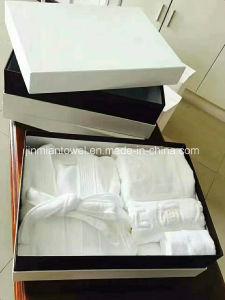 104e338f97 Customized 100% Cotton White Hotel Terry Towel Cloth SPA Bathrobe   Bath  Robe