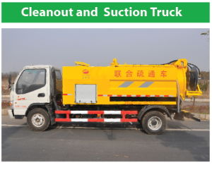 4X2 Cleanout and Suction Truck