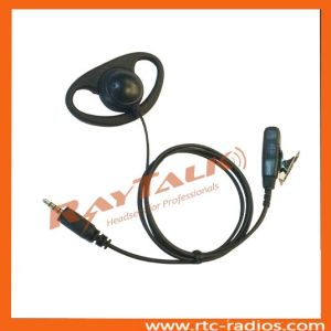 Two Way Radio D Style Earpiece for Kenwood PKT-23 pictures & photos